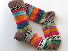 Bunte Socken hygge 38/39 von Sockenlust auf Etsy