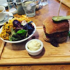 #BusinessPlanning meeting. Has to involve lunch obvs! #herbies #veganuary