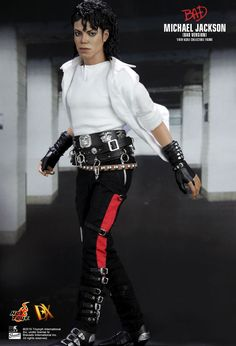 Bad - Michael Jackson / Statue - Figure - Figur - Doll - Puppe