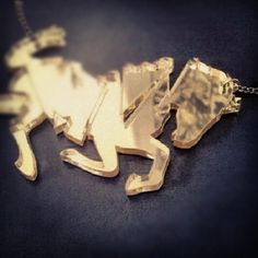 """To make something truly strong, you first have to break it"" Akira Amani.  Glory horse necklace  #horse #necklace #statement #jewellery"