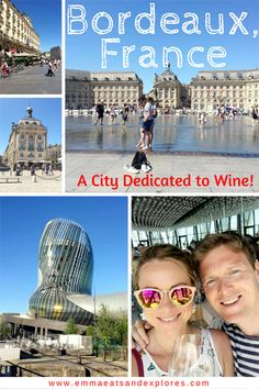 24 hours in Bordeaux - we crammed so much in. We saw the Old Town, Cite du Vin, Musee du Vin, did a wine tasting tour and ate fabulous food! Europe Travel Tips, Travel Advice, Travel Guides, Travel Destinations, Travelling Europe, European Destination, European Travel, Strasbourg, Toulouse