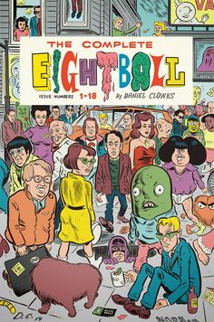 "Sneak peek at cover for Daniel Clowes' ""The Complete Eightball"" anthology - Boing Boing"