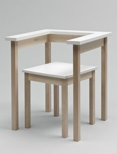 Table-chair designed by Richard Hutten in 1990 and now part of many leading museums in the world including Stedelijk Museum Amsterdam, MoMA New York and Victoria & Albert museum London.
