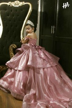 Baby Girl Party Dresses, Dresses Kids Girl, Birthday Dresses, Cute Dresses, Princess Dress Kids, Disney Princess Dresses, Princess Ball Gowns, Little Girl Gowns, Gowns For Girls
