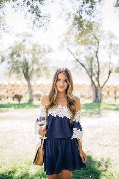 Gal Meets Glam Sonoma Sunshine - Pixie Market dress and Cuyana bag