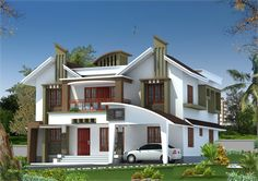 Looking for new Kerala home? Here comes a beautiful design at an area of 3075 sq.ft.Good kerala house model. These...