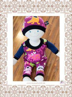 Freebook Puppenkleidung Set