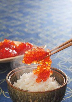 Salmon roe, Ikura いくら