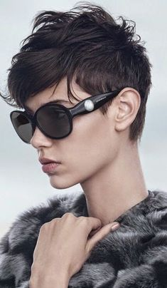 short Pixie Haircuts for women 2014