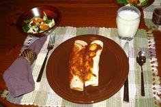 Enchiladas for dinner.