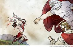 god of war<br> Kratos God Of War, Penny Arcade, Arte Disney, Video Game Art, Second World, Popular Culture, Videogames, Concept Art, Fan Art