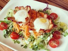 Ei mit Hähnchenstreifen-Mantel aus dem Backofen  #selfmade#salad#salat#eggs#lowcarbporn#lowcarb#iloveit#foodporn#foodigers#lowcarbstyle#foodiegram#instafood#foodie#instafood#foodisfuel#foodblogger#foodpic#instafit#fitnesslifestyle#fitnessfood#fitforlife#eatclean#cleaneating#lowcarbcooking#foodheaven#instapic by _xxvii.xi.mmxiv_