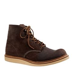 """Just bought these bad boys for 120.00 Shipped.. Red Wing® for J.Crew 6"""" round-toe boots"""