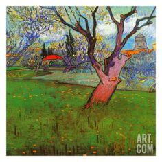 Vue D'Arles Avec Arbres En Fleurs Art; Vincent van Gogh (print at Art.com)