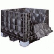 Caixa palete Glt   A Caixa palete Glt é equipada em seus cantos com proteção contra as colisões, dessa forma sendo um dos matérias mais resistentes do mercado. Quando a Caixa palete Glt é empilhada, as paredes encaixam-se umas nas outras, não sendo necessários dispositivos plásticos de fecho. Desenvolvida com matérias de extrema qualidade, a Caixa palete Glt quando empilhada pode suportar até 04 toneladas, assim, atendendo as mais diversas necessidades de seus clientes.