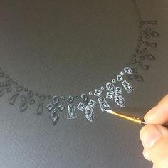 44 ideas jewerly illustration art sketch design for 2019 Jewelry Logo, Jewelry Shop, Jewelry Art, Silver Jewelry, Fine Jewelry, Jewelry Clasps, Jewellery Earrings, Gems Jewelry, Jewellery Making
