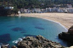 Sa Riera Beach in Begur, Spain