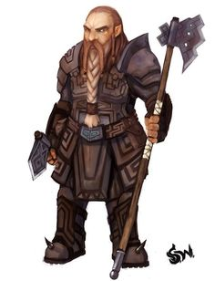 dwarf fighter - Google Search