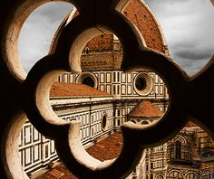 Storm coming as seen from a tower in Florence with the Duomo in sight.