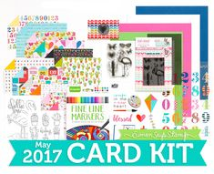 If you have a project made using items from the May 2017 Card Kit, please share it below! An InLinkz Link-up