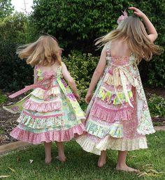 Feliz dresses for Christmas Day by thornberry, via Flickr