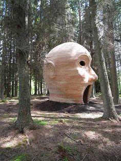 The Forest Head Of Kielder Inspired By Celtic Gods