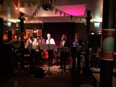 Had such an entertaining Friday evening. Was lucky enough to see a great new swing/jazz band called King of swingers. They are a great group of guys and really fun uplifting music. Thank you for the invite @earcandy