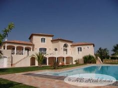 AB Real Estate France: Luxury villa for Sale in Beziers area, Languedoc Roussillon, South of France