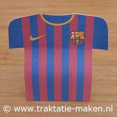 afbeelding traktatie FC Barcelona voetbalshirt