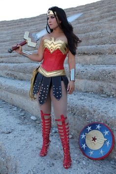 WONDER WOMAN WARRIOR skirt by VivaWonderWoman on Etsy