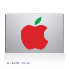 The Big Apple #macbookdecal http://thedecalguru.com/product/big-apple-macbook-decal/