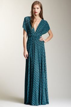 Long Transformer Wrap Dress by Von Vonni on @HauteLook