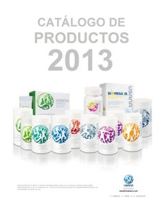 Catálogo de Productos USANA México 2013