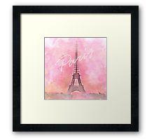 Paris City - Eiffel Tower Framed Print