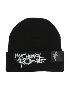 My Chemical Romance Black Parade Watchman Beanie  c17b265ebe73