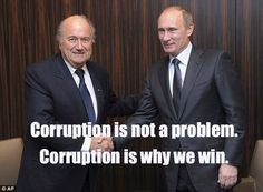 Sepp Blatter re-elected as President of FIFA despite the organization's corruption crisis