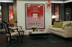 chanel no.5 advertising poster by andy warhol...available at 12 12 decor