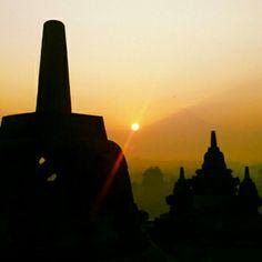 Borobudur, Yogyakarta, Java, Indonesia