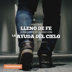 Tendremos la ayuda del Cielo. #Lds #Sud #Fe # LibrodeMormón #LosMormones