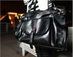 Bag 2014 fashion strap vintage buckle decoration big capacity women's handbag shoulder bag