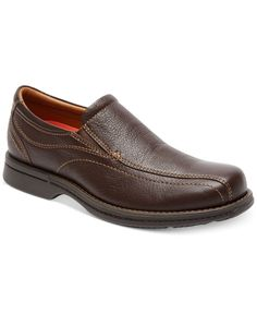 Mens Rockport Classics Revised Twin Gore Tumbled Pull Up