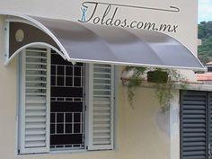 Ideas para la ventana de mi cuarto, con esto ya no se va a meter el agua  #toldoshttp://toldos.com.mx/techos-de-policarbonato/