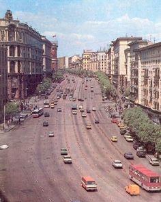 Москва. Час пик. 1980 год.