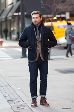 How can you not love this ensemble on a man?
