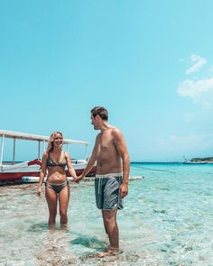 If you want a good time swimming with Sea Turtles this is the spot to be. They can be a bit shy but still come around from time to time. Gili Trawangan, Come Around, Sea Turtles, Bikinis, Swimwear, Swimming, Bathing Suits, Swim, Swimsuits