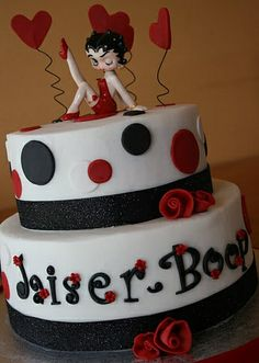 Betty Boop Cake by creative and delicious sweets (Sandy), via Flickr