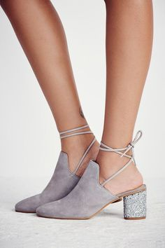 Love the sparkle heels