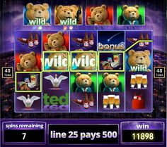 Ted is finally out! Hopefully you can earn some free spins, like this.  Play #hititrich now!