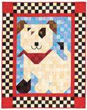 Ruff Patch Quilt Kit on shopquiltmaker.com
