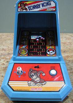 Vintage Coleco Donkey Kong Nintendo Mini Arcade Gaming System USC 575 | eBay